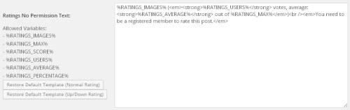 Как добавить к статьям или страницам WordPress рейтинг?